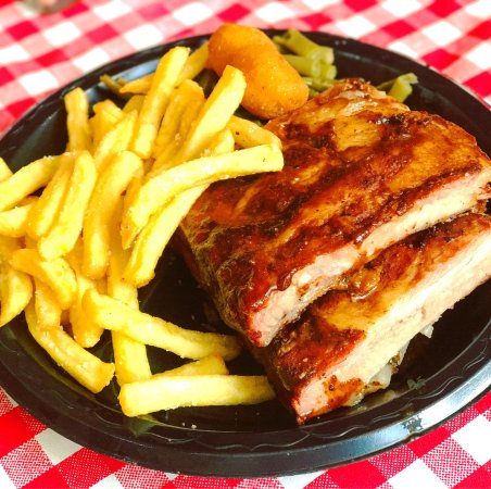 High Cotton NC BBQ: Ribs & Smoked Chicken