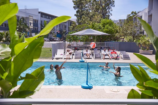 Griffith university village updated 2017 apartment - Griffith university gold coast swimming pool ...
