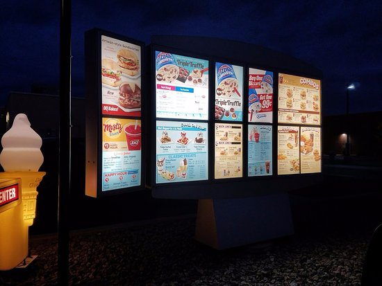 Perham, MN: Drive-thru Menu.