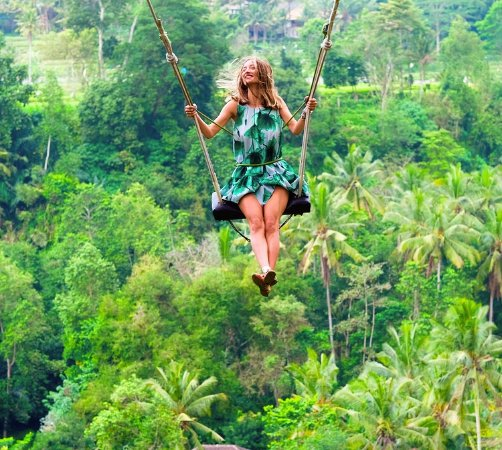 Private Bali Tours - Day Tours: Bali swing, one of the most unique swing in bali