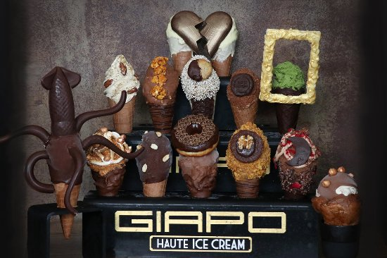 Giapo: A selection for the chef's table experience.