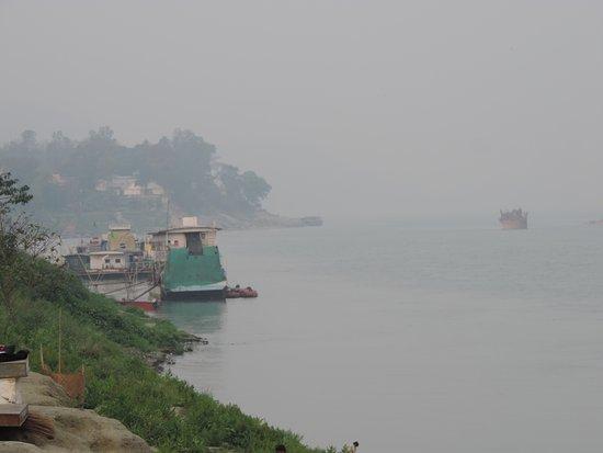 Brahmaputra river bank