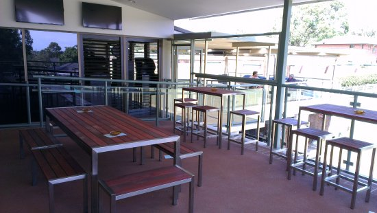 Club Kirrawee: Outdoor Mezzanine Area