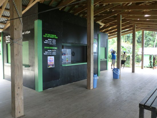 Vanuatu Jungle Zipline: Accueil