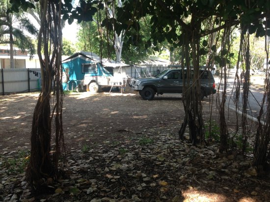 Rowes Bay Beachfront Holiday Park: Camp site