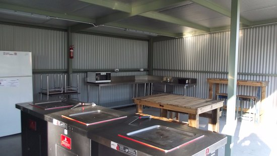 Lake Hume Village, Australia: Camp Kitchen