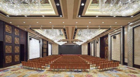 Hohhot, China: Grand Ballroom Theater Setup