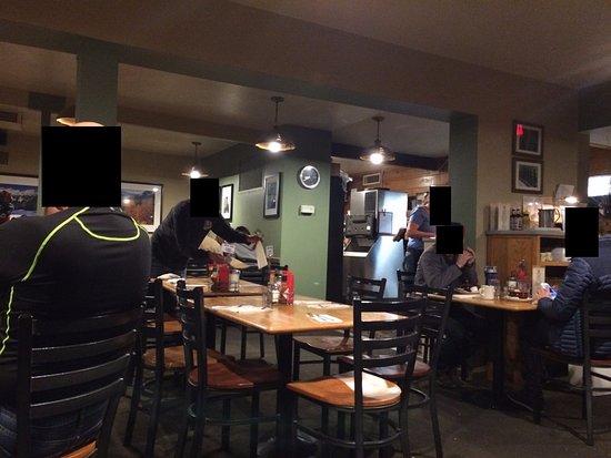 Burgers Restaurant Dinning Room