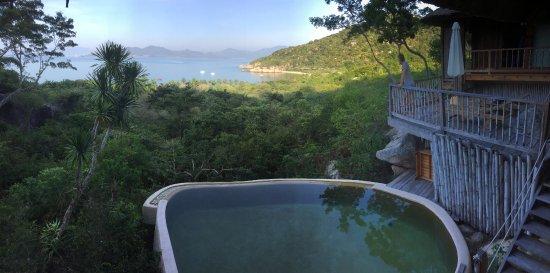 Six Senses Ninh Van Bay : View from living area