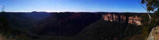 Blackheath, Αυστραλία: Panoramic view of Evans Head