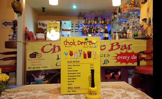 Chok Dee Bar Cocktail