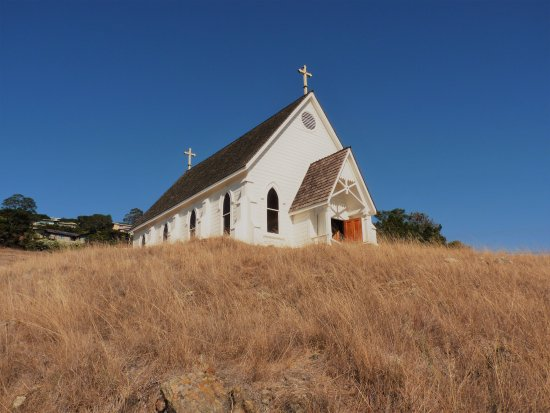 Old St. Hilary's Open Space Preserve: The chapel