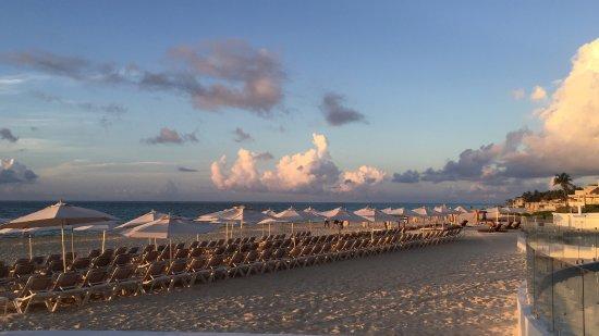 Playacar Palace : Loved the early morning sunrises
