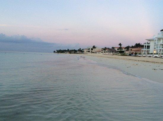 Another sunrise over Playacar Palace