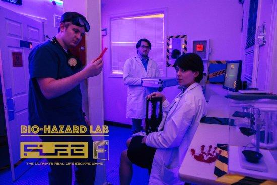 Redmond, WA: Bio-hazard - FLEE Seattle Escape Game