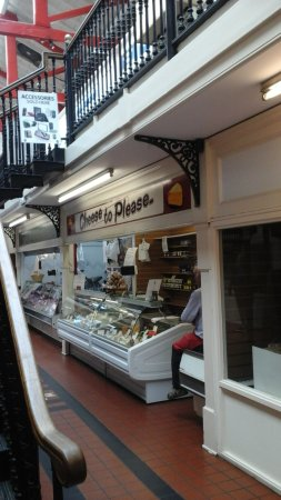 Worcester, UK: The cheese shop