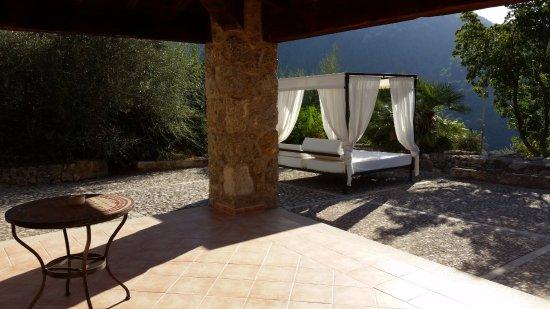 Finca Hotel Albellons Parc Natural: Taras