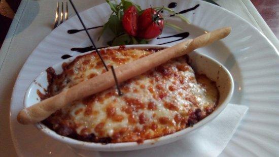 La Prego Restaurant Et Epicerie Italienne : La Lasagne