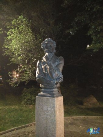Bust Alexander Pushkin