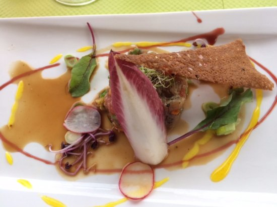 La Table d'O: tartare de thon