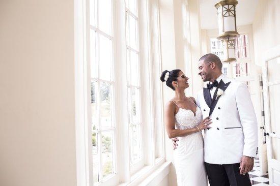 Hot Springs, VA: Bride & Groom
