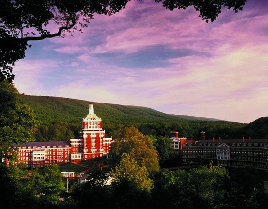 Hot Springs, Wirginia: Sunset at The Omni Homestead Resort