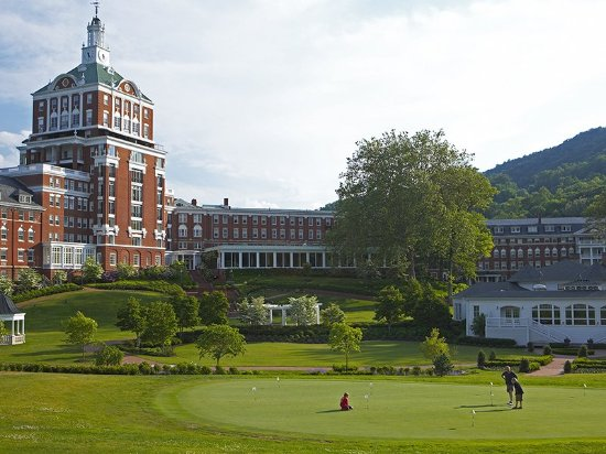 Hot Springs, VA: Old Course Putting Green