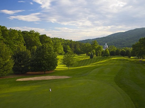 Hot Springs, VA: Hole on the Old Course