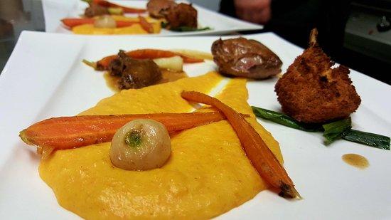 Pigeon, carottes