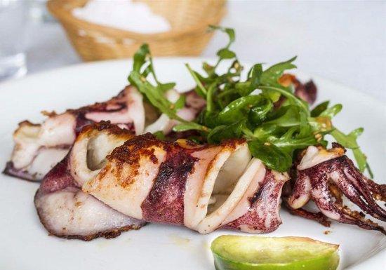 Limeri Restaurant: καλαμαρι