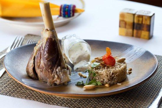 Le Meridien Jakarta: Haruf Ouzi - Middle East Dish