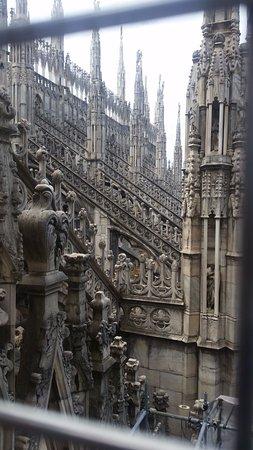 la vista gotica che solo nelle terrazze potrete gustare - Picture of ...