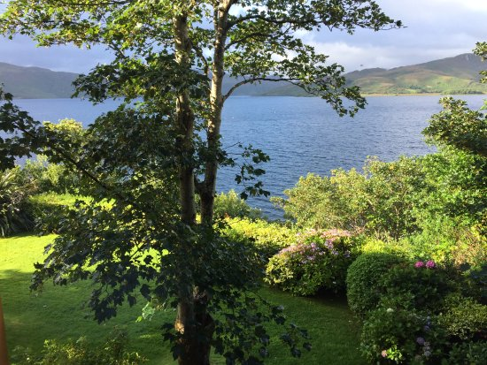 Caragh Lake, ไอร์แลนด์: Ausblick aus dem Zimmer