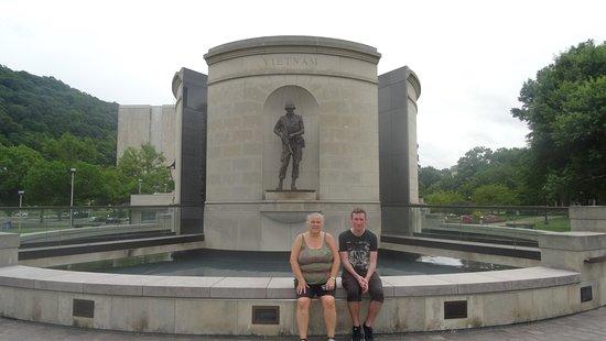 West Virginia Veterans Memorial: The War Monument