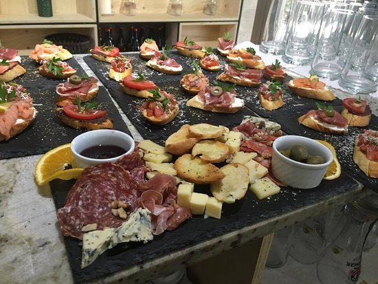 Sliven, Bulgaria: Cheese and meat plates, bruschettas and more