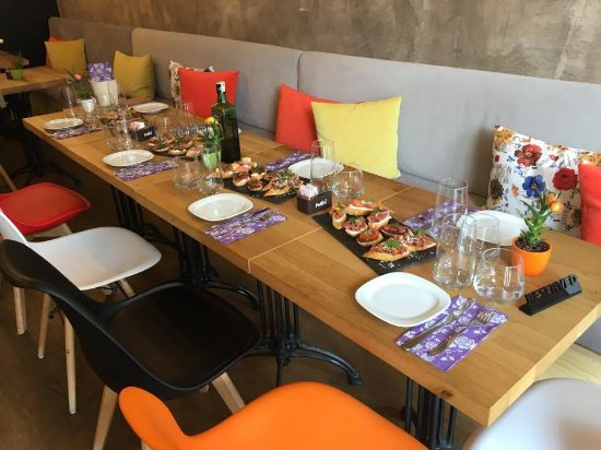 Sliven, Bulgaria: Our B-day table!