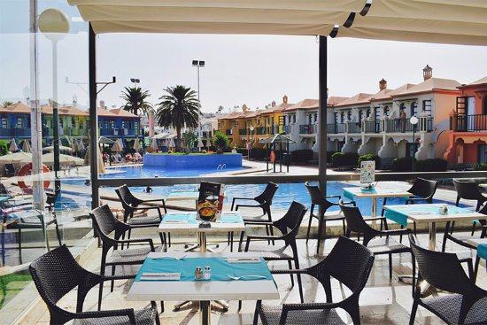 eó Maspalomas Resort: Restaurante terrace