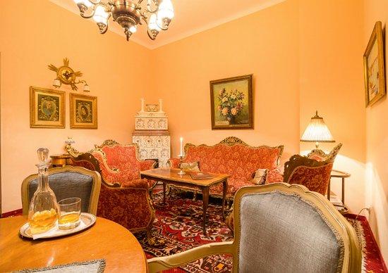 Villa Excelsior Hotel & Kurhaus: Salon