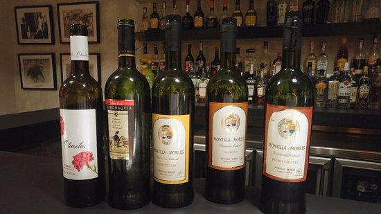 Hospes Palacio del Bailio: Cata de vinos Montilla Moriles