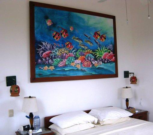 Top O' Tobago Villa & Cabanas: Mainhouse/Masterbedroom