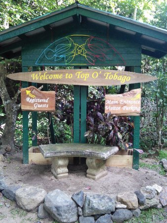 Arnos Vale, Tobago: Welcome to Top O Tobago