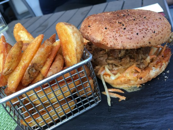 Forchheim, Germany: Burger Pulled Pork