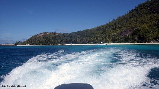 Port Glaud, Seychelles: La partenza...