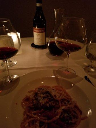 Babbo: My pasta + wine