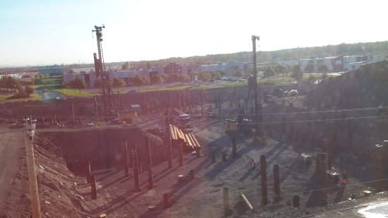 Chateau Repotel Duplessis : View of Construction from room 424