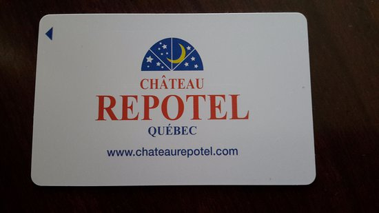 Chateau Repotel Duplessis: Key card