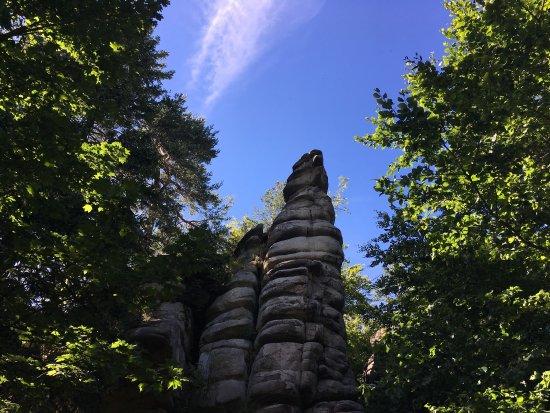 Wunsiedel, Duitsland: Rudolphstein august '17