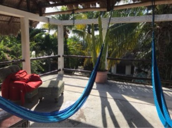 Baldwin's Guest House Cozumel: Plenty of places to relax.
