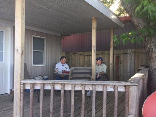 Erieau, كندا: Cottage 10 - Patio