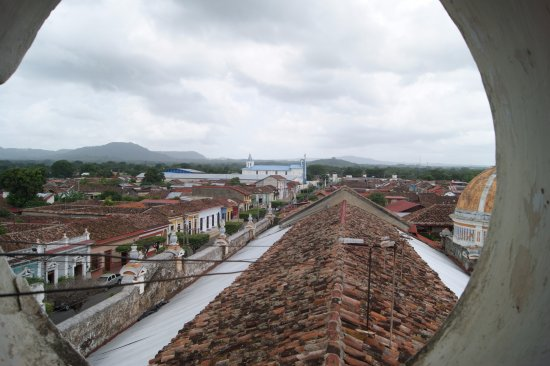 Granada, Nicaragua: View from the bell tower window